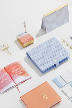 Be inspired to live your best life with dreamy, pretty stationery from the new kikki.K Be Brave collection Kikki K Planner, Filofax, Stationery Paper, Stationery Design, Cute Stationary, Notebook Design, Swedish Design, Branding, Planner Organization