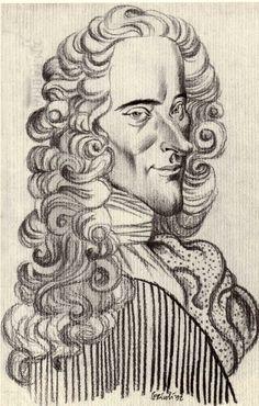 Tullio Pericoli  Voltaire
