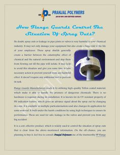 How Flange Guards Control The Situation Of Spray Outs