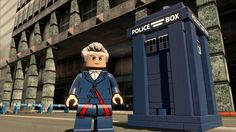 How Lego is using Doctor Who and The Simpsons to create the next big video game Lego Doctor Who, Doctor Who Art, Tv Doctors, Twelfth Doctor, Police Box, Don't Blink, Torchwood, Nerd Geek, Dr Who