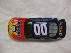 Nascar Die-cast Signed #00 Kenny Wallace Aaron's / Mad Magazine Racing 2004 Monte Carlo No BOX Limited Edition 1:24 Scale Car By Action Racing Collectables by Action Racing Collectables,
