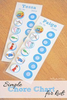 Simple chore chart for kids Preschool Chores, Toddler Chores, Toddler Behavior, Toddler Schedule, Toddler Activities, Toddler Boys, Chore Chart For Toddlers, Charts For Kids, Chore Chart Toddler