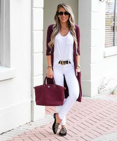 Fashion-forward Summer Outfits To Try Now. Mode Outfits, Fall Outfits, Summer Outfits, Casual Outfits, Fashion Outfits, Womens Fashion, Mode Pop, White Jeans Outfit, Mode Jeans