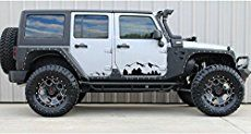 Jeep Wrangler TJ Side Decals and Fender Stickers Browse our wide selection of Jeep Wrangler TJ Side Decals and Stickersto find the best pricesfor your Wrangler LJ or TJ. In this category you will find LJ and TJ Wrangler side decal products for the 1997, 1998, 1999, 2000, 2001, 2002, 2003, 2004, 2005 and 2006 Jeep Wranglers. You can either select a product category or use our search box to find specific items in our store. Feel free touse our filtering options to sort by popularity, price…