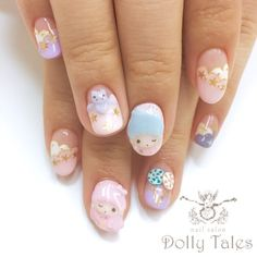 Dolly tales kawaii nails