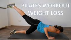 Pilates Workout for Weight Loss - 20 Minutes Full Body Pilates Workout with .You can find Pilates and more on our website. Pilates Video, Pilates Body, Pilates Barre, Pilates For Beginners, Pilates Reformer, Beginner Pilates, Pilates Ring, Beginner Workouts, Pop Pilates