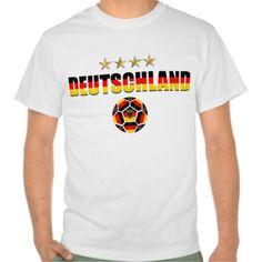 Deutschland Weltmeister Vier Sterne Fussball 2014 Tee Shirt