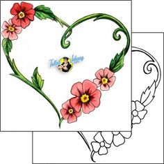 Heart Tattoo for-women-heart-tattoos-mistress-of-pain-mpf-00028