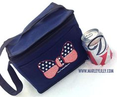 Six-Can Merica Bow Cooler