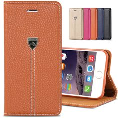 FLOVEME Case For Apple iPhone 7 Plus 6 6S Plus Luxury Original Magnetic Flip Leather Case Card Slot Holster Cover For iPhone 6
