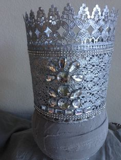 Glinda the good witch crown template through the sequins i for Glinda the good witch crown template