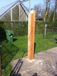 Zelf een overkapping maken Make a roof yourself? Patio Design, Garden Design, Carport Plans, Terra Nova, Backyard Storage, Raised Patio, Diy Outdoor Kitchen, Concrete Patio, Flagstone Patio