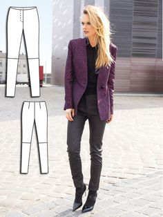 Read the article 'Haute Stuff: 9 Edgy New Sewing Patterns' in the BurdaStyle blog 'Daily Thread'.