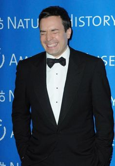 Jimmy Fallon - his laugh makes me laugh!