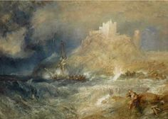 Turner: Bamborough Castle
