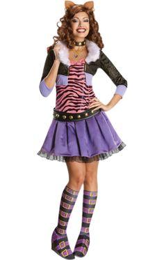 Monster High Clawdeen Wolf Costume | Jokers Masquerade