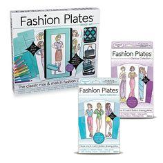 Fashion Plates: Set of 3 - MindWare.com