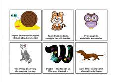 Bokstavsramsor. Learn Swedish, Swedish Language, Montessori, Teaching, Education, Comics, Manet, School Ideas, Animals