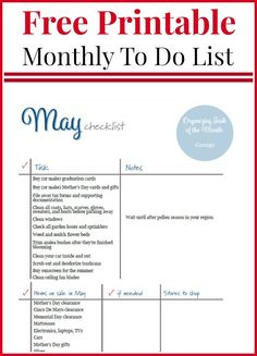 Checklist to do list wedding philippines ireland monthly priority To Do Checklist, Daily Planner Printable, Life List, Family Organizer, Recipe From Scratch, Graduation Day, Mothers Day Cards, Shop Plans, May