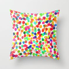 A CELEBRATION Throw Pillow by Rebecca Allen - $20.00