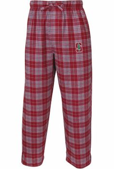 Team Color, Stanford Cardinal Adult NCAA Team Pride Flannel Lounge Pants
