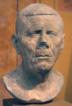 Male portrait head. Carrara marble. Ca. 30 BCE — 50 CE Inv. No. 1991.534. Boston, Museum of Fine Arts