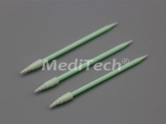 Small Compressed Spiral Pointed Foam Swab We manufacture lint free foam swabs, cleanroom foam swabs in a variety of head sizes, tip material, handle lengths. Spiral, Handle, Cleaning, Tips, Free, Home Cleaning, Door Knob, Counseling