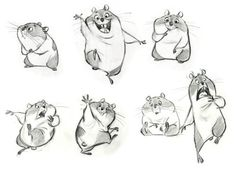 Character art by Disney animator Jin Kim, via Character Design Page.