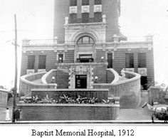 Baptist Memorial Hospital after it opened in It was demolished in Baptist Memorial Hospital, Bluff City, Memphis Tennessee, Radiology, Historical Pictures, School Stuff, Health Care, Memories, History