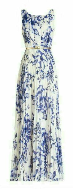 long dress good for dressy or casual