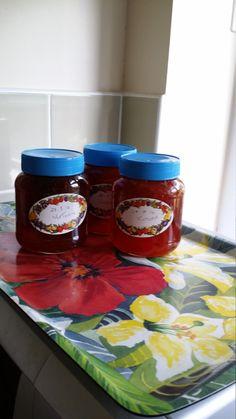 Recipe photo: Simple plum jam Plum Jam, Red Plum, Food Photo, Jelly, Recipe Photo, Homemade, Simple, Recipes, Marmalade