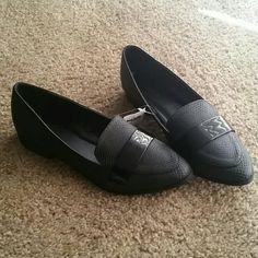 *NWT* Tuxedo shoes *NWT* Black tuxedo shoes by Charlotte Russe, size 7. Charlotte Russe Shoes