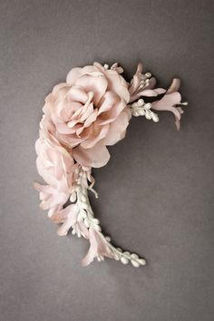EDEN | Floral wedding headpiece | Percy Handmade | Lovely Clusters - Beautiful Etsy Shops