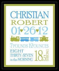 newborn birth announcement template - Google SearchName, date, time - Poor Richard FONTS Weight and inches -  Fang Song Train -  Miltrain
