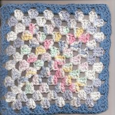 Granny Square Dishcloth