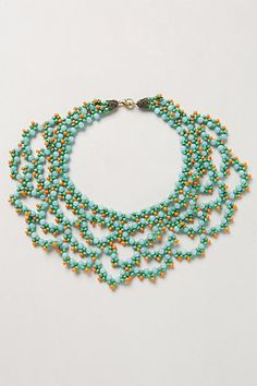 Bead Crochet Necklace - anthropologie.com