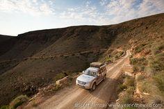 Driving up the Gannaga Pass in Tankwa Karoo National Park