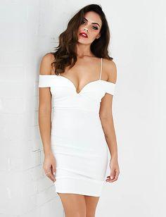 Paper Swan Mini Dress