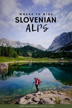 An in-depth guide to the best hiking destinations in the Slovenian Alps. We've curated the best hiking trails in the Julian Alps, Karawanks, and the Kamnik-Savinja Alps. Find out exactly where to go and where to stay for a hiking trip in Slovenia.  #slovenia #slovenianalps #alps #mountains #hiking #trekking #europe #travelslovenia #visitslovenia #julianalps #karawanks #kamnikalps Hiking Routes, Hiking Guide, Hiking Trails, Backpacking Tips, Slovenia Travel, Bohinj, Julian Alps, Mountain Hiking, Camping And Hiking