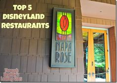 Are you going to Disneyland soon?  Check out Heathers picks for the Top 5 #Disneyland Restaurants