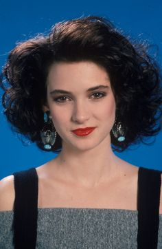 Winona Ryder's fabulous hair in Heathers!