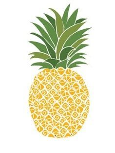 Images For > Pineapple Drawings Tumblr | HW | Pinterest | Pineapple ...