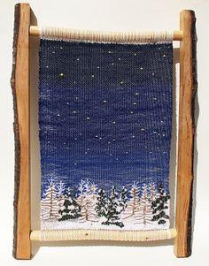 趣味の絵織り・枝織り