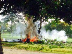 R12 Noticias: República Dominicana: Avião cai em campo de golfe ...
