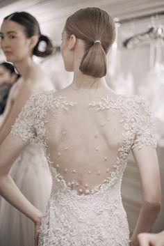 Spring 2016 Bridal Trends: Illusion Embellishment / Photo: The LANE