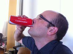 Klaus enjoys his Combeenation Coke Coke, World, Coca Cola, The World, Cola