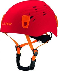 Camp USA Junior Titan Helmet ** See the photo link even more details. (This is an affiliate link). Go Camping, Camping Hacks, Titan Helmet, Abs Weights, Titanic, Bicycle Helmet, Climbing, Adventure, Red