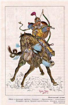 Mongolian warrior
