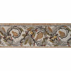 """Our #mosaic #patterns bring a slice of """"La Bella Figura"""" indoors, creating a spicy statement in your kitchen! - Mosaic Designs - Mosaic Murals - Mosaic Listellos  #Mozaico"""