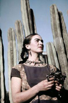 What Grew In Frida Kahlo's Garden Exibit at the New York Botanical Garden; in the Bronx